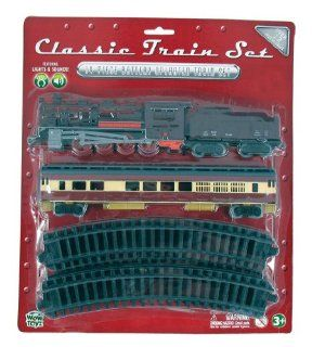 WowToyz Classic Train Set   Steam Engine with Passenger