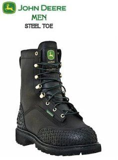 John Deere Boots Mining Series Steel Toe MET Guard JD9350: Shoes