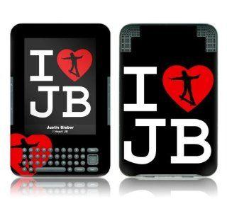 Music Skins MS JB110210  Kindle 3  Justin Bieber  I