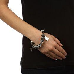 Signature Moments Sterling Silver LOL Theme Bracelet