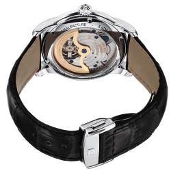 Frederique Constant Mens Maxime Silver Dial Automatic Watch