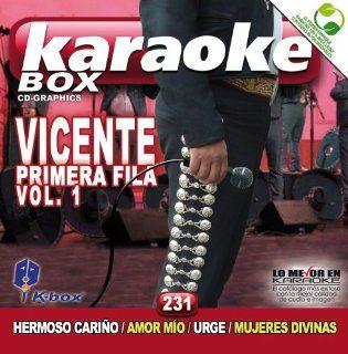KBO 231 Vicente Fernandez Primera Fila Vol 1(Karaoke