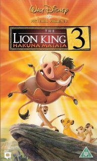 The Lion King 11/2 [VHS] Nathan Lane, Ernie Sabella