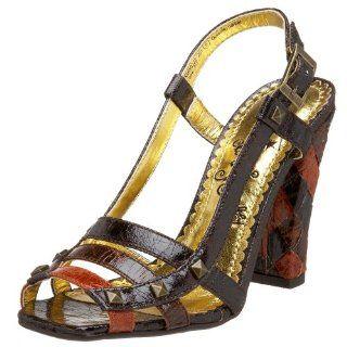 com Naughty Monkey Womens Roman Holiday Pump,Chocolate,6 M US Shoes