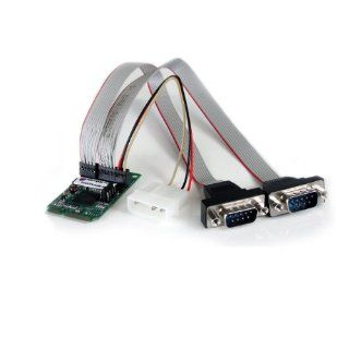 StarTech 2 Port RS232 Mini PCI Express Serial Card