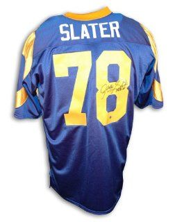 Jackie Slater Los Angeles Rams Blue Throwback Jersey