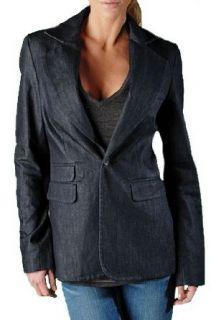 True Religion Jeans Womens Tailored Blazer Body Rinse