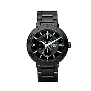 Fossil Womens Ceramic Multi function Watch