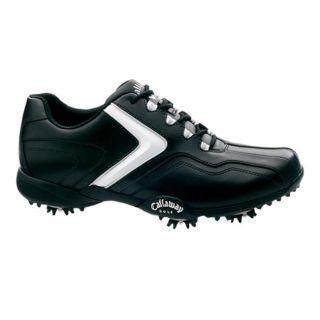 Callaway Mens Chev LP Black/ White/ Silver Golf Shoes