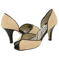 Steve Madden Lejune Natural Raffia Pumps/Heels