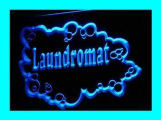 ADV PRO i232 b LAUNDROMAT Dry Clean Shop Display NEW Light