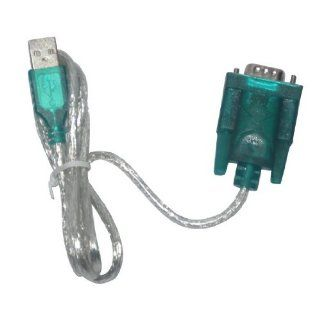 USB to RS232 DB9 Serial Cable + DB25 Pin Adapter / Port