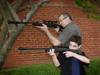 Dadz & Kidz Combo   Silent Cat & Recon Whisper air rifle