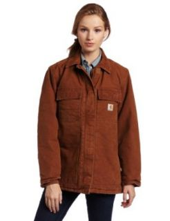 Carhartt Womens Sandstone Arctic Quilt Lined Traditional