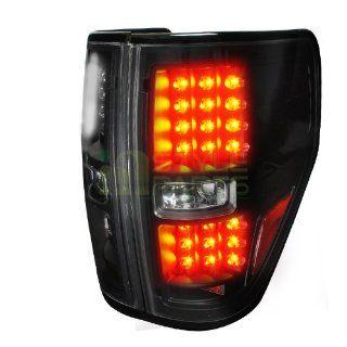 2009 2012 Ford F150 Black Housing Led Tail Light :