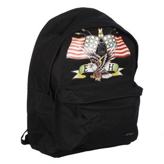 Ed Hardy Shane Black American Eagle 16 inch Backpack