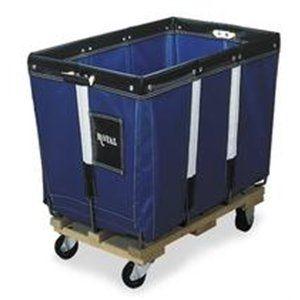 ROYAL G20BLPMA Basket Truck,20 Bu. Cap.,Blue,48 In. L
