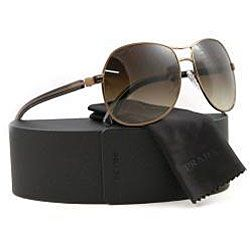 Prada SPR 52L Mens Metal Aviator Sunglasses