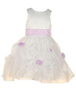 Sophias Style Lilac Flower Girl Dress