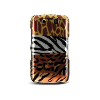 BlackBerry Storm II 9550 Mix Animal Design Crystal Case