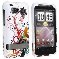 Snap on Rubber Coated Case for HTC ThunderBolt 4G