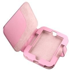Pink Leather Case Protector for  Nook 2nd Edition