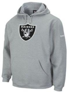 NFL Mens Oakland Raiders Grey End Zone Playbook Hood