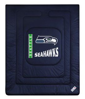 Seattle Seahawks NFL Locker Room Full or Queen Bed/Bedding