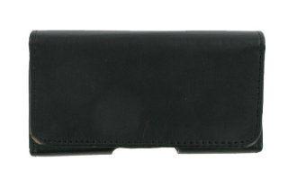 PCMICROSTORE Brand Apple iPhone PDA Premium Black Leather