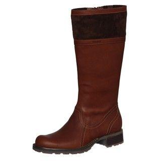 Sebago Womens Saranac High Brown Casual Leather Boots FINAL SALE