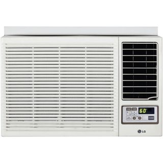 LG 12,000 BTU Window Air Conditioner with Heat and Remote 230 Volt
