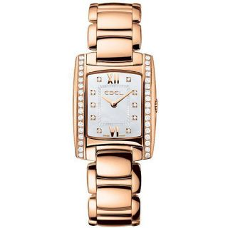 Ebel Brasilia Womens Rose Gold Diamond Watch
