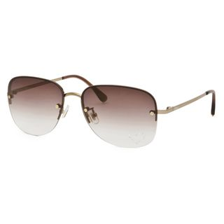 Chloe Womens Light Gold Fashion Sunglasses Eyewear