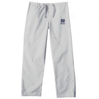 Gelscrub Unisex White Notre Dame Irish Scrub Pants
