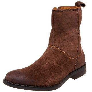 H.S. Trask Mens J. Cowan Dress Boot,Brown,8 M Shoes