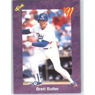 1991 Classic Game (Purple) Trivia Game Card # 4 Bret Butler   Los