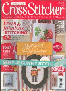 Cross Stitcher Magazine # 242 August 2011: Various: Books