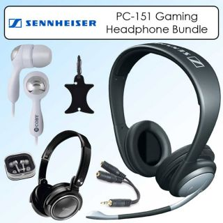 Sennheiser PC151 Over head Noise Cancelling Mic Gaming Headset Kit