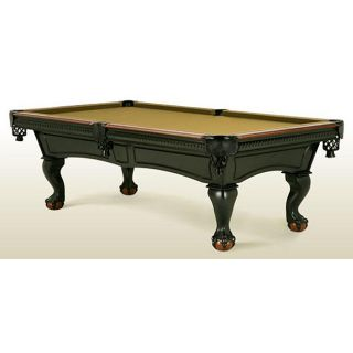 Solid Hardwood Full Slate Pool Table