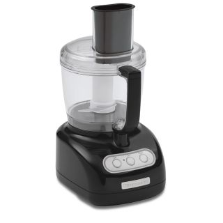 KitchenAid RKFP710OB Onyx Black 7 cup Food Processor (Refurbished