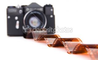 Film and old camera  Stock Photo © Vitaly Gariev #1339672