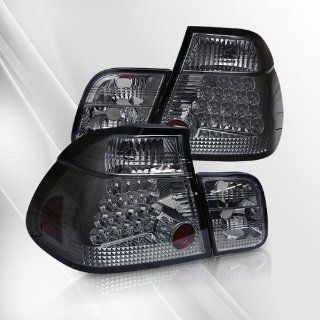 BMW 323i 325i 328i 330i M3 (E46) 4DR 99 00 01 LED Tail Lights ~ pair