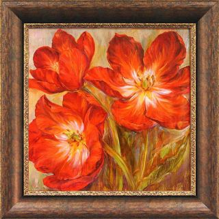 Carson Flamenco Reds Framed Wall Art