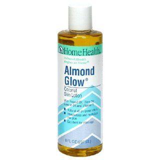 Skin Lotion, Almond Glow, 8 Fluid Ounces (237 ml) (Pack of 4) Beauty