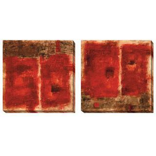 Jane Bellows Quality Control Red Oversized Canvas Art Set Today $
