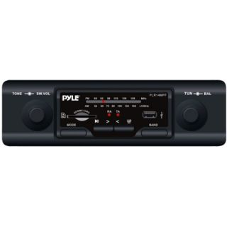Marine Flash Audio Player   160 W   Single DIN