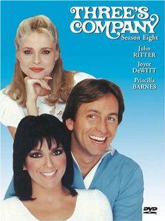 Threes Company Season Eight John Ritter, Bernard West