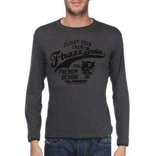 TRAXX T Shirt Homme Anthracite   Achat / Vente T SHIRT T TRAXX T