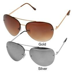 Adi Designs 40028 Womens Silver Frame Aviators