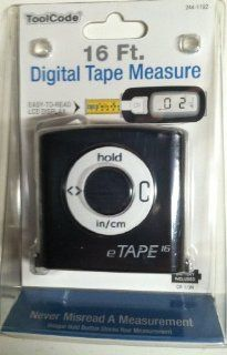 Digital Measuring Tape   Black